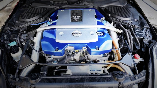 VQ37VHR ENGINE WITH GTS7040 SUPERCHARGER