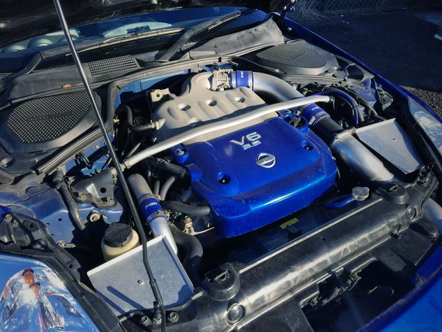 VQ35DE TWINTURBO ENGINE