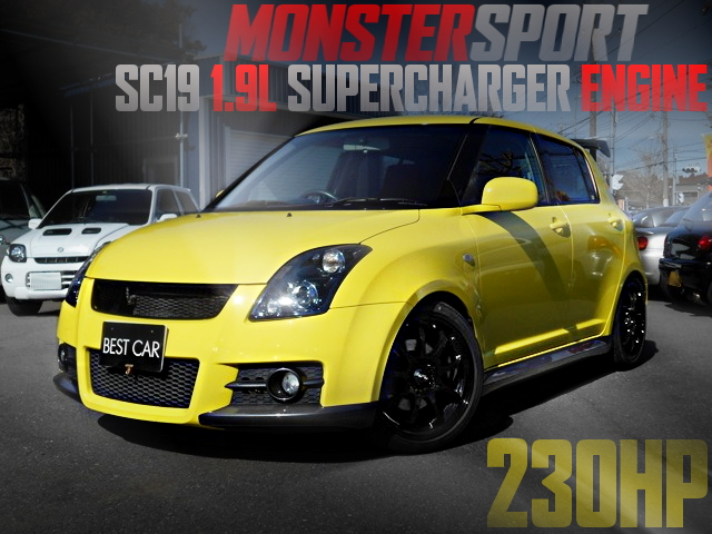 MONSTER SPORT SC19 ENGINE ZC31S SWIFT SPORT