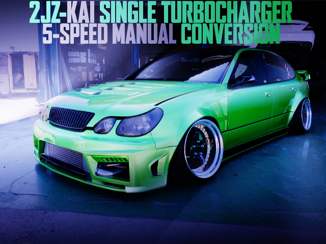 2JZ SINGLE TURBO 5MT JZS161 ARISTO