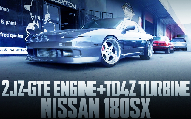 2JZ-GTE ENGINE SWAP 180SX WIDEBODY