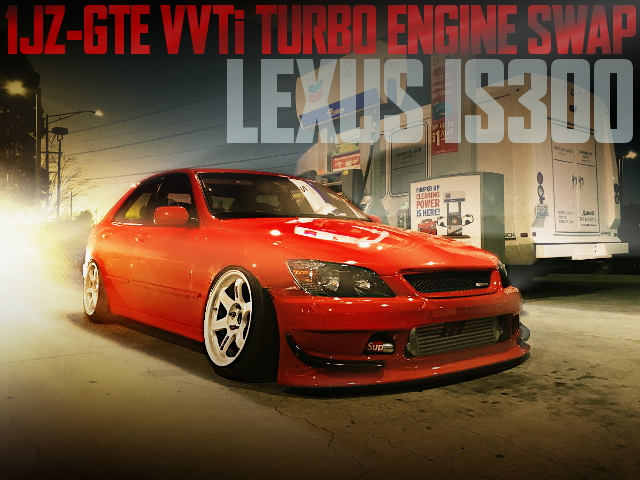 1JZ VVTi TURBO SWAP STANCE LEXUS IS300
