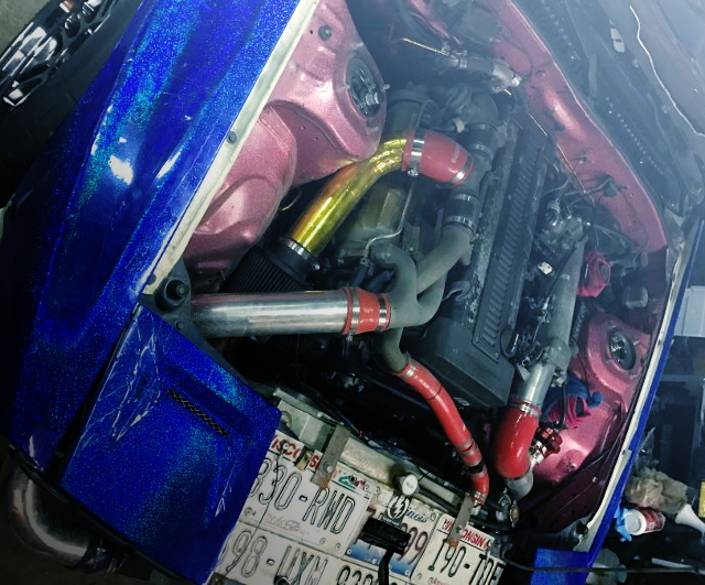 1JZ-GTE 2500cc TWINTURBO ENGINE FROM FC3S RX-7