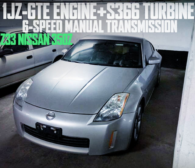 1JZ-GTE S366 TURBO Z33 350Z
