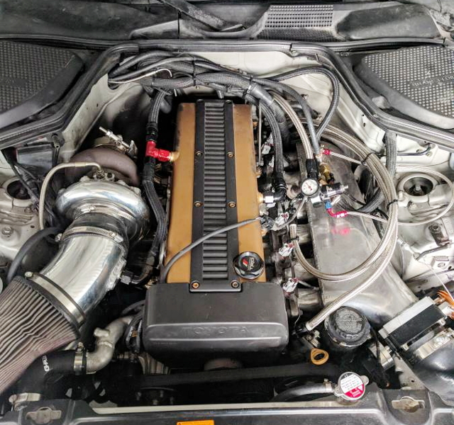 1JZ-GTE ENGINE WITH S366 TURBO