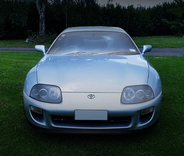 FRONT FACE TO JZA80 SUPRA SILVER