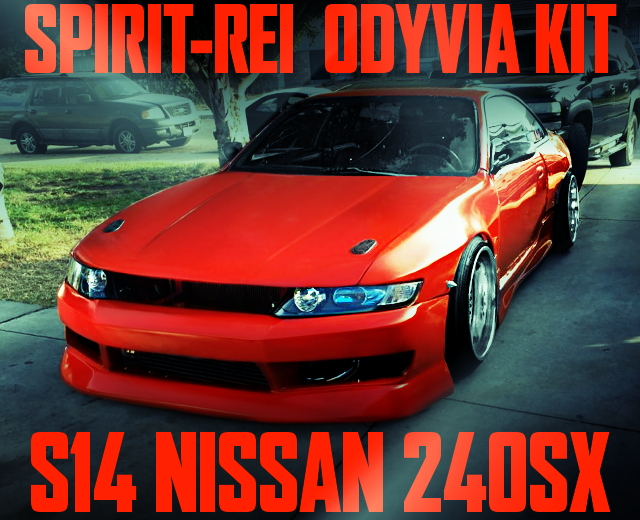 S14 ODYVIA BODY KIT FROM 240SX