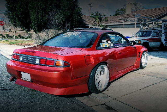 BACK EXTERIOR S14 240SX