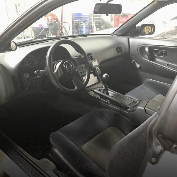 INTERIOR LEFT HAND DRIVE 240SX