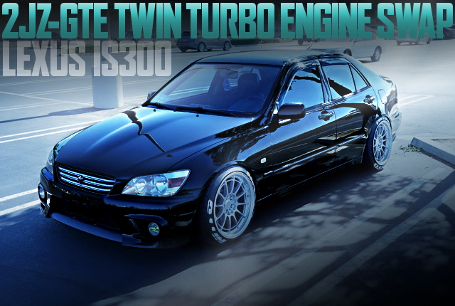 2JZ-GTE TWINTURBO LEXUS IS300