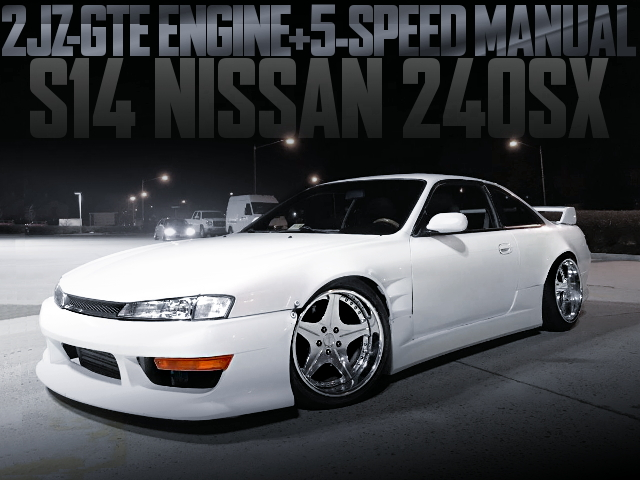 2JZ-GTE ENGINE 5MT S14 240SX