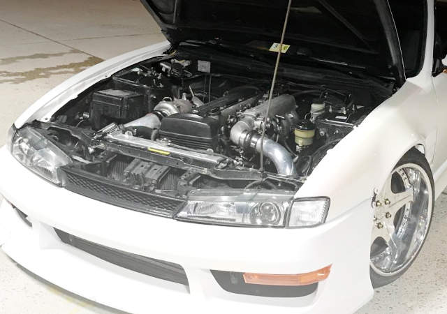 2JZ-GTE ENGINE SWAP FROM S14 240SX