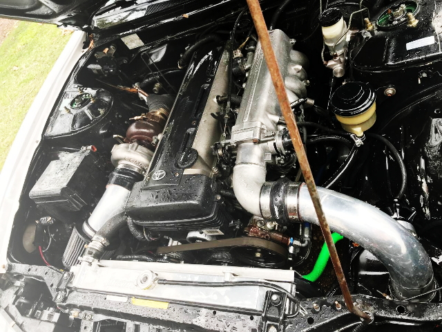 2JZ-GTE SINGLE TURBOCHARGER ENGINE