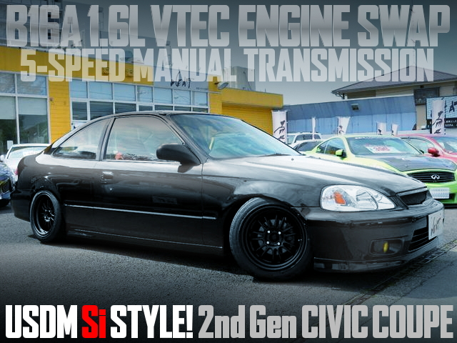 B16A VTEC ENGINE JDM MODEL CIVIC COUPE