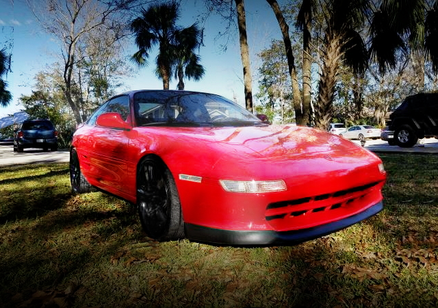 FRONT EXTERIOR 2nd GEN TOYOTA MR2 RED