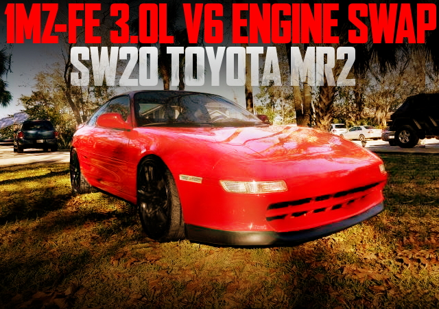 1MZ V6 ENGINE SWAP 2nd Gen MR2