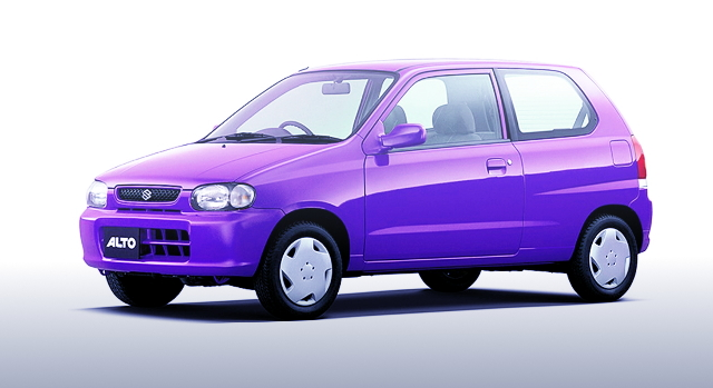 5TH GEN ALTO 3-DOOR PURPLE