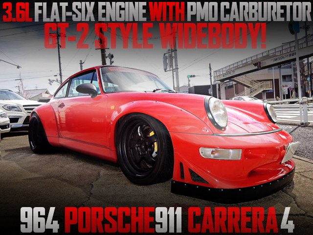 PMO CARBRETOR GT2 WIDEBODY PORSCHE 964