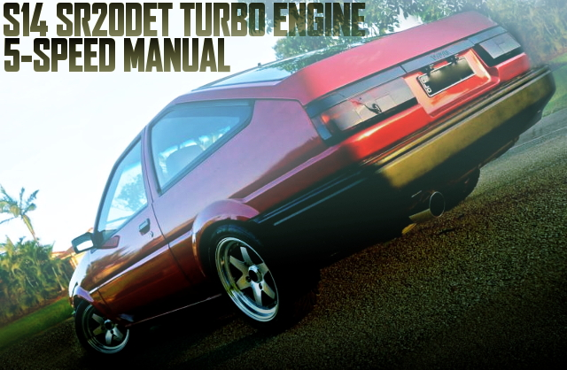 S14 SR20DET TURBO ENGINE AE86 LEVIN