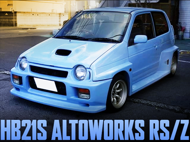 WIDEBODY HB21S ALTOWORKS RSZ