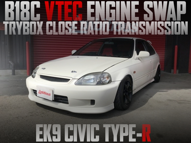 B18C VTEC EK9 CIVIC TYPE-R