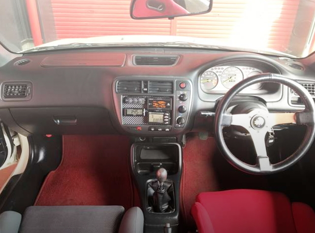 DASHBOARD FROM EK9 CIVIC TYPE R