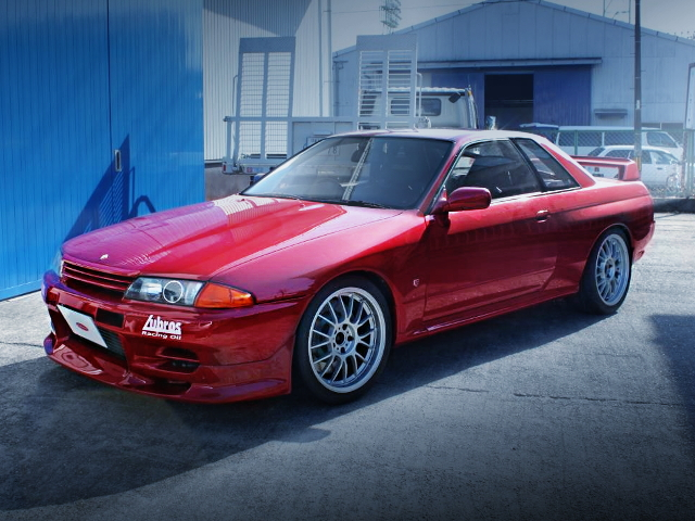 FRONT R32 GT-R RED