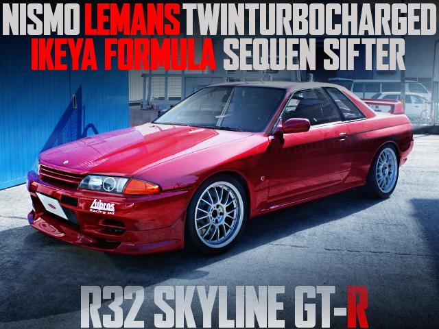 LEMAN TWINTURBO R32 GTR