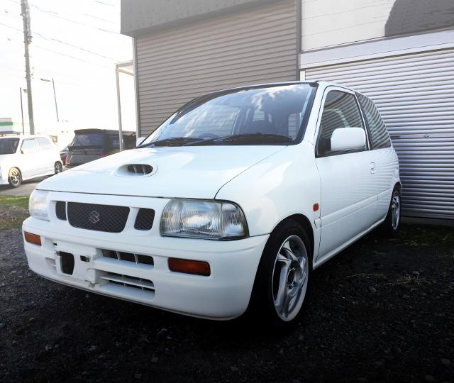 FRONT EXTERIOR CN22S CERVO MODE WHITE