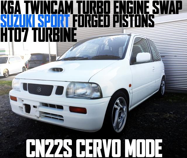 CN22S CERVO MODE K6A TWINCAM TURBO