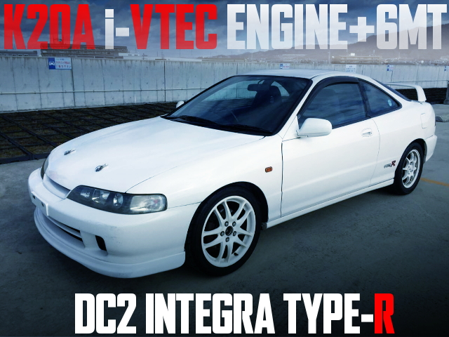 K20A i-VTEC SWAP DC2 INTEGRA TYPE-R