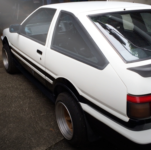 REAR SIDE PANDA AE86 TRUENO