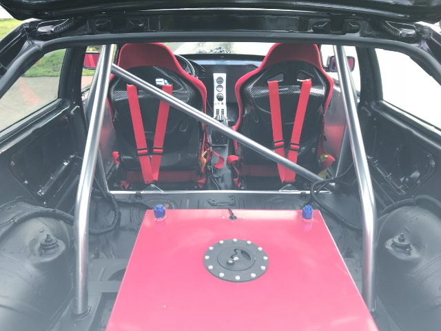 ROLLBAR AND SAFETY FUEL TANK