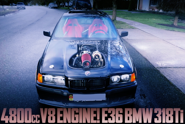 4800cc V8 ENGINE E36 BMW 318Ti