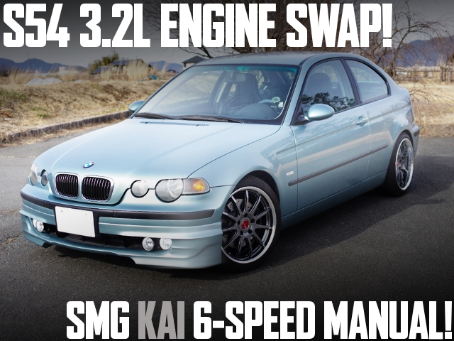S54 ENGINE SMG MANUAL E46 BMW 318Ti