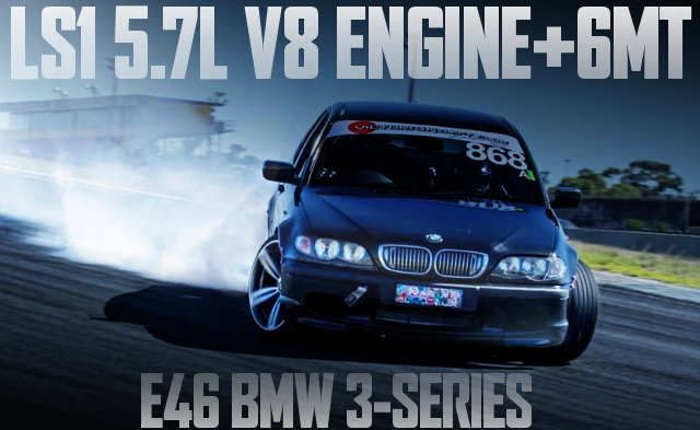 LS1 V8 ENGINE 6MT E46 BMW 3-SERIES