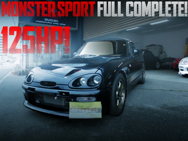 MONSTER- SPORT FULL TUNING EA11R CAPPUCCINO
