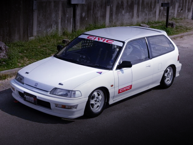 FRONT FACE EF9 GRAND CIVIC SIR2 WITE