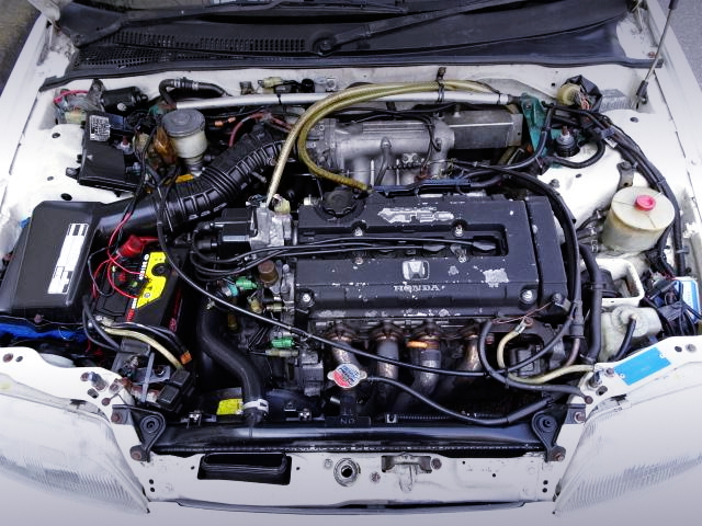B16A VTEC ENGINE FROM EF9 CIVIC