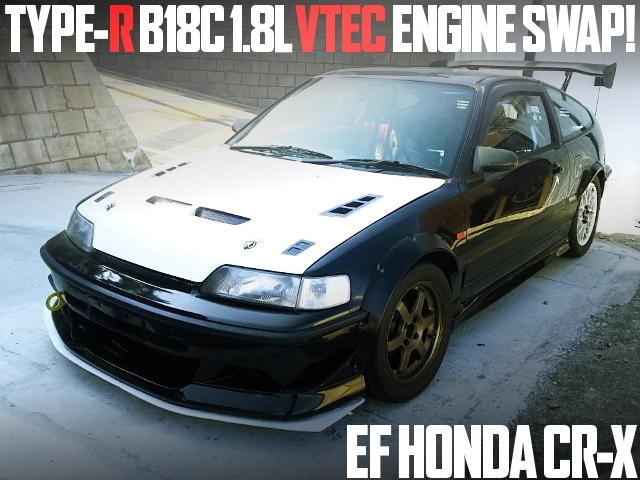 B18C VTEC ENGINE EF CR-X