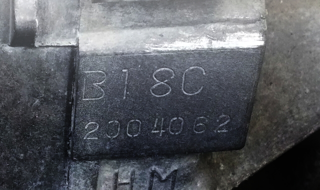 B18C ENGINE BLOCK
