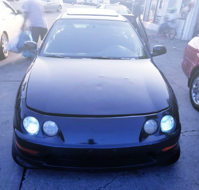 3rd Gen KOUKI INTEGRA FACE CONVERSION FROM EG CIVIC