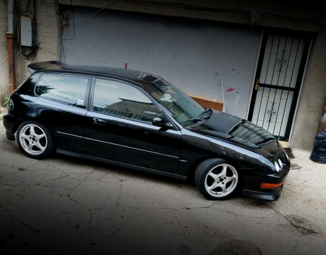 RIGHT SIDE EXTERIOR EG CIVIC BLACK