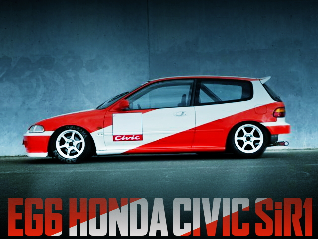 EG6 CIVIC SiR1 RACING COLORING