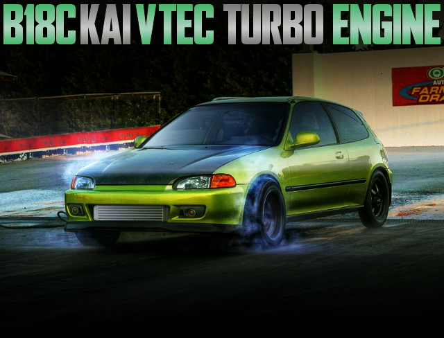 EG CIVIC VTEC TURBO