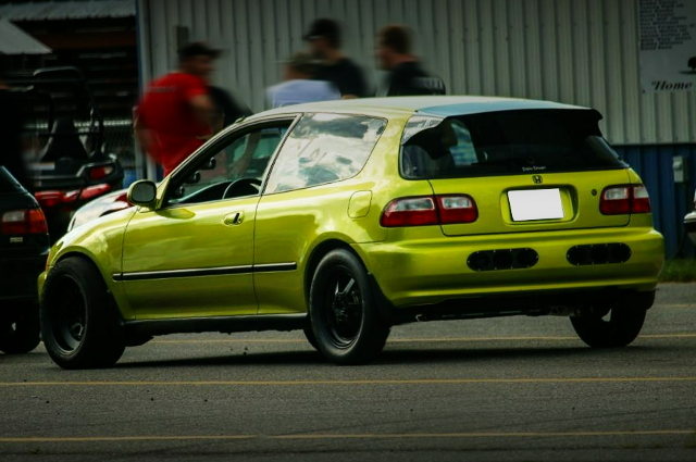 REAR EXTERIOR EG HONDA CIVIC HATCH