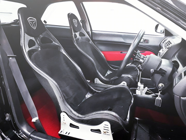 CARBON FULL BUCKET SEATS
