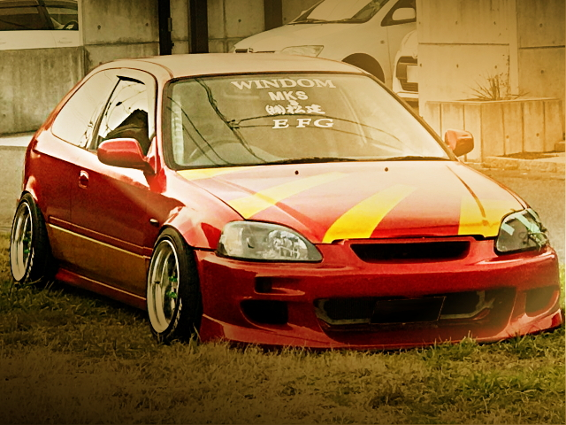 FRONT FACE EK2 CIVIC