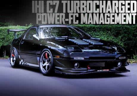 C7 TURBINE POWER-FC FC3S MAZDA RX-7