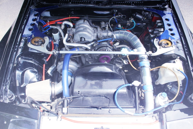 13B SIDE-PORT ROTARY TURBO ENGINE
